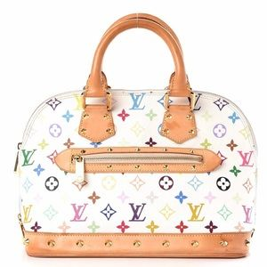 Authentic Louis Vuitton Murakami Multicolor Alma